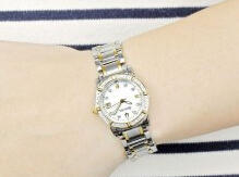 Bulova Women's 98R107 Diamond Accented Two-Tone Stainless Steel Watch
