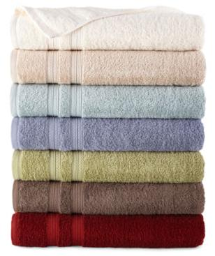 7 for $17.93 Home Expressions™ Solid Bath Towels