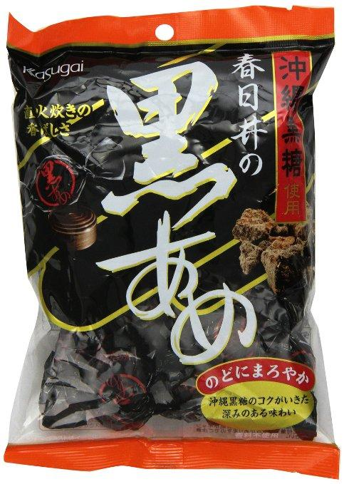 $4.43 Kasugai Kuro Ame Black Sugar Hard Candy, 5.29 Ounce