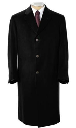 Jos. A. Bank Signature Full Length Cashmere Topcoat