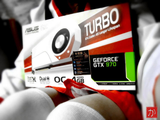 ASUS GeForce GTX 970 TURBO 4GB 256-Bit GDDR5 Video Card