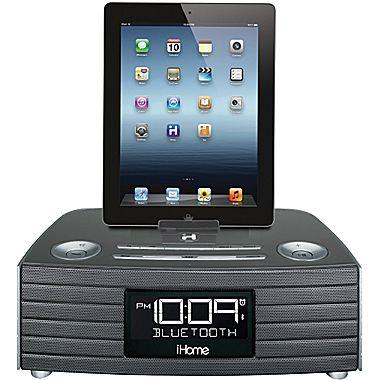 iHome iBN97 Bluetooth Stereo FM Clock Radio with USB Charging Port