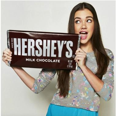 Free! Hershey's Milk Chocolate Candy Bar, 5-Pound Bar