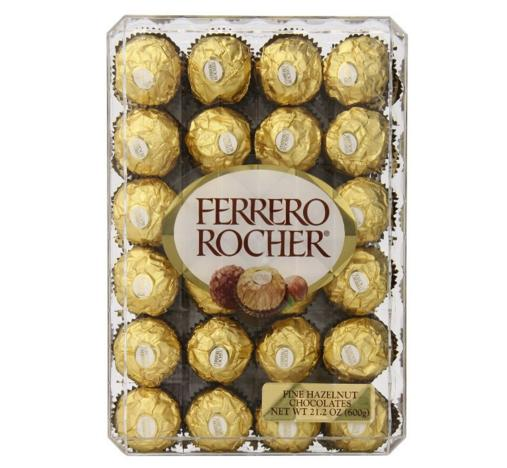 $8.63 Ferrero Rocher, Hazlenut, 48 Count, 21.2oz