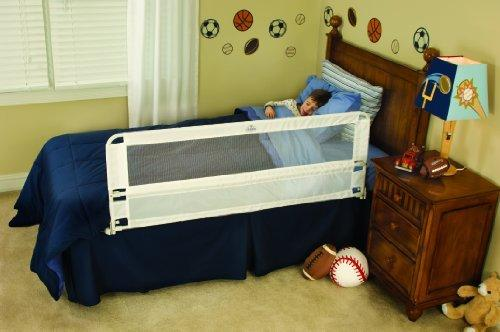 Regalo Hide Away Extra Long Bed Rail, White