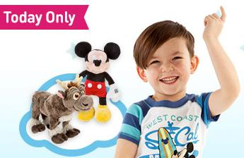 $8 select Sleepwear and Plush @ Disneystore