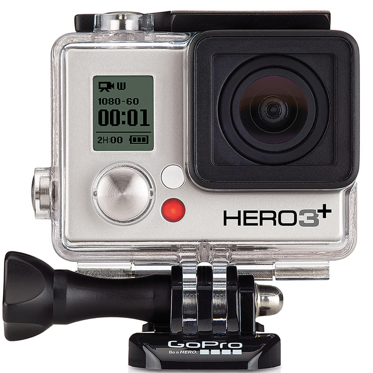 $149 GoPro HERO3+ Silver Edition Camera Manufacturer Refurbished
