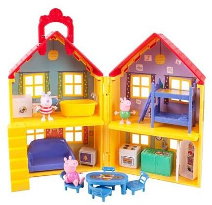 $29.97 Peppa Pig Peppa's Deluxe House Play Set with 3 Figures