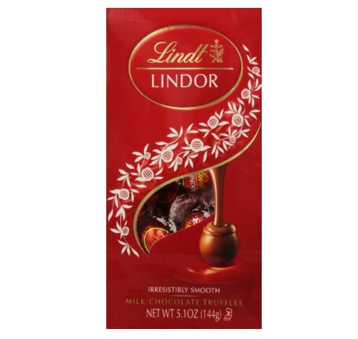 $11.49 Lindt LINDOR Milk Chocolate Truffles, 5.1oz (Pack of 6)