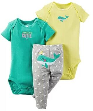 Up to 70% Off + Extra 15% Off Baby Clothing @ Carter's