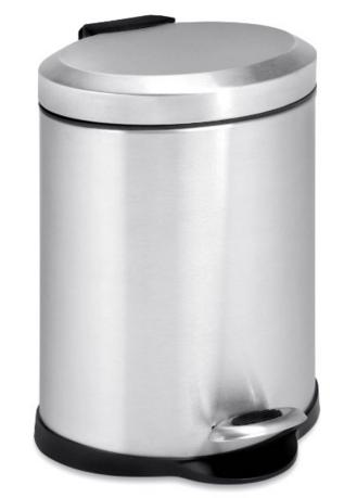 $13.04 Honey-Can-Do TRS-01448 Oval Stainless Steel Step Can, 5-Liter @ Amazon