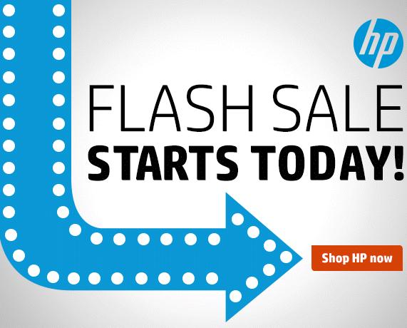 Ends Saturday 72 Hours Flash Sale @HP