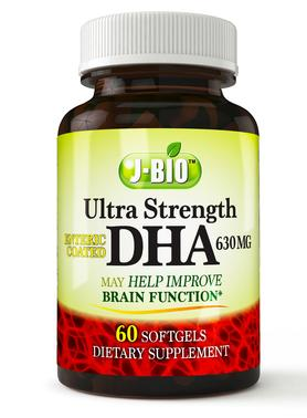 Buy 1 Get 1 Free J-Bio™ Ultra DHA (60 Enteric Coated Softgels)