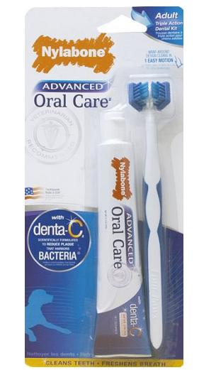 Nylabone Advanced Oral Care Dental Kit