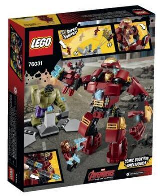 $24.24 LEGO® Super Heroes The Hulk Buster Smash 76031
