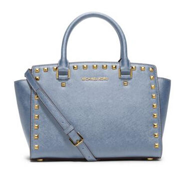 Up to 50% Off Select Pale Blue Handbags @ Michael Kors