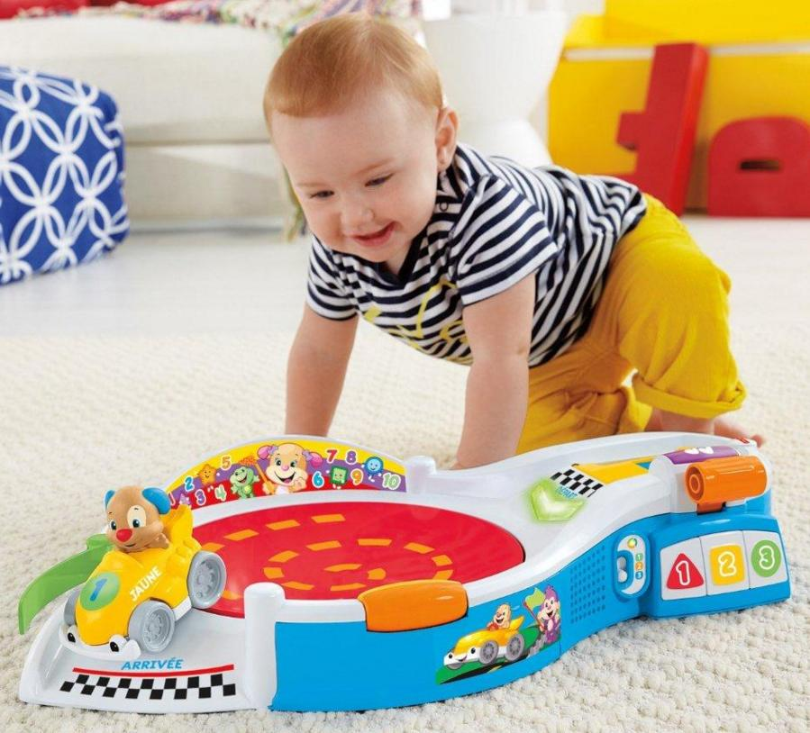 Fisher-Price Laugh & Learn Puppy's Smart Stages Speedway @ Amazon