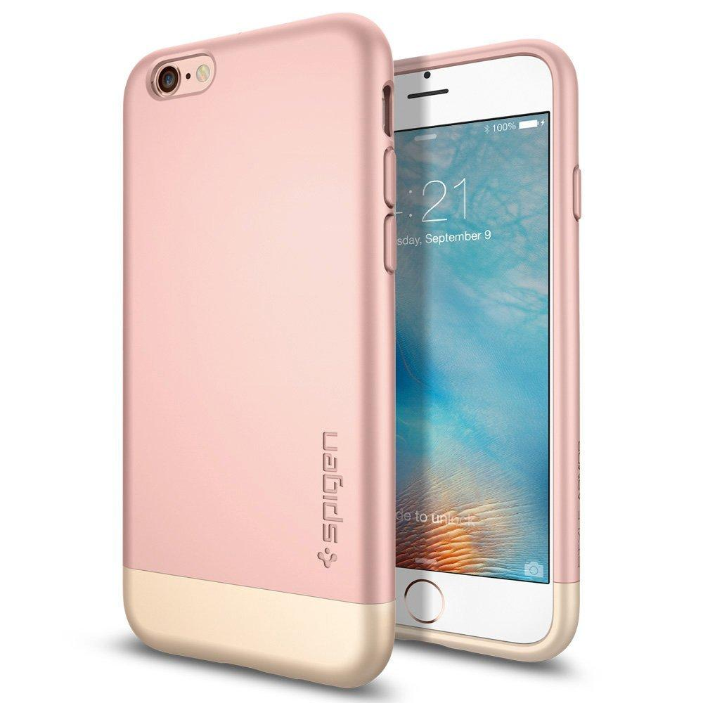 Spigen® [Style Armor] Safe Slide [Rose Gold] SOFT-Interior Scratch
