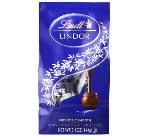 $12.98 Lindt LINDOR Dark Chocolate Truffles, 5.1oz (Pack of 6)