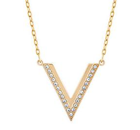 25% Off Swarovski Crystal V Small  Necklace @ Lord & Taylor