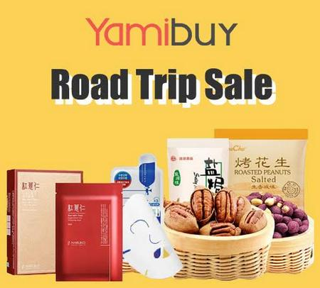 Upgrade! Up to 72% off + Extra 10% Off RoadTrip sale @ Yamibuy
