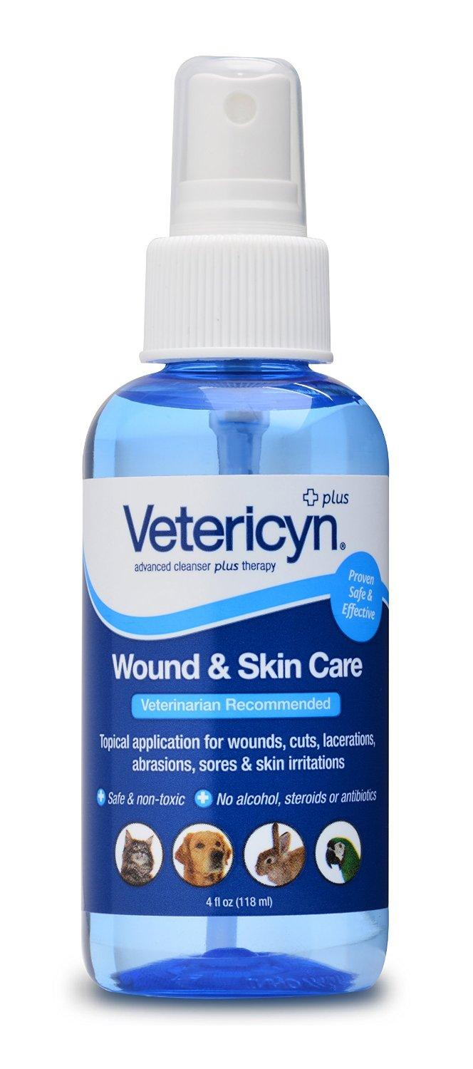 Vetericyn Plus All Animal Wound & Skin Care 4oz