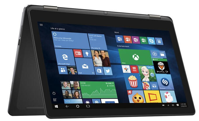 $499.99 Dell Inspiron 15.6 Inch 2-in-1 Touchscreen Laptop (Core i5, 8GB,500GB)