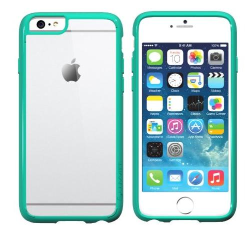 LUVVITT [ClearView] Hybrid Scratch Resistant Back Cover with Shock Absorbing Bumper for Apple iPhone 6/6s (4.7)