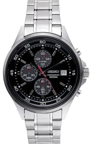 Seiko Chronograph Men's Quartz Watch SKS491
