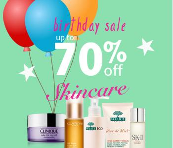 Up to 70% off + Extra 16% Off Skincare Birthday Care @ unineed.com
