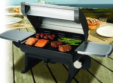 Cuisinart CGG-200 Propane Gas Grill 12,000-BTU Portable Outdoor Tabletop Grill