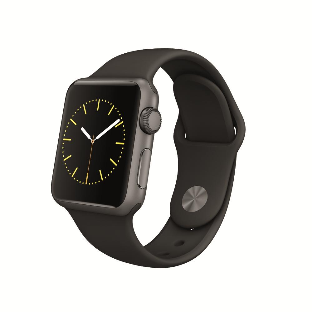 $199.99 Apple Watch Sport 38mm Space Gray Aluminum Case - Black Sport Band