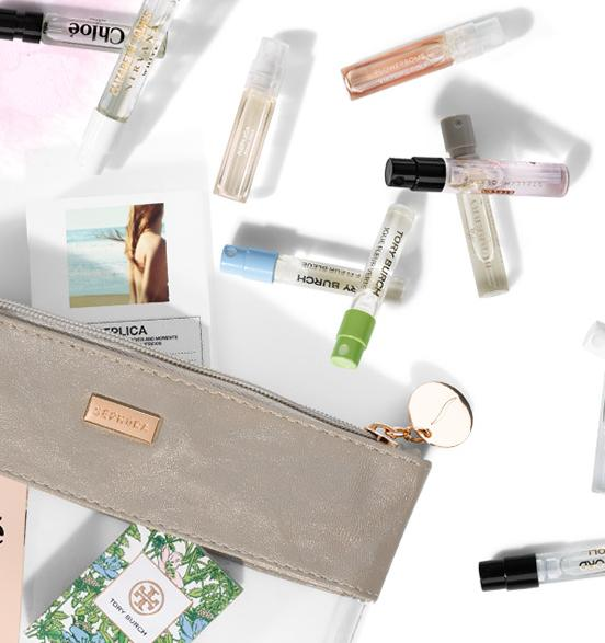 9 Free Fragrance Samples with Any $25 Purchase @ Sephora