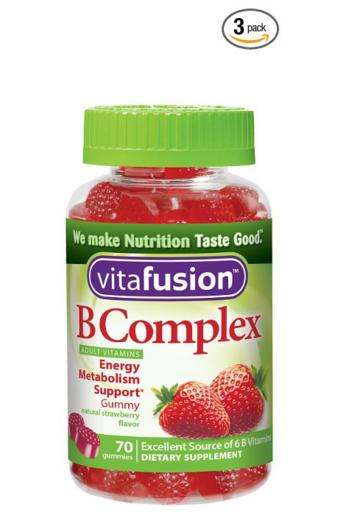 $8.97 Vitafusion B Complex Gummy Vitamins, 70 Count (Pack of 3) @ Amazon