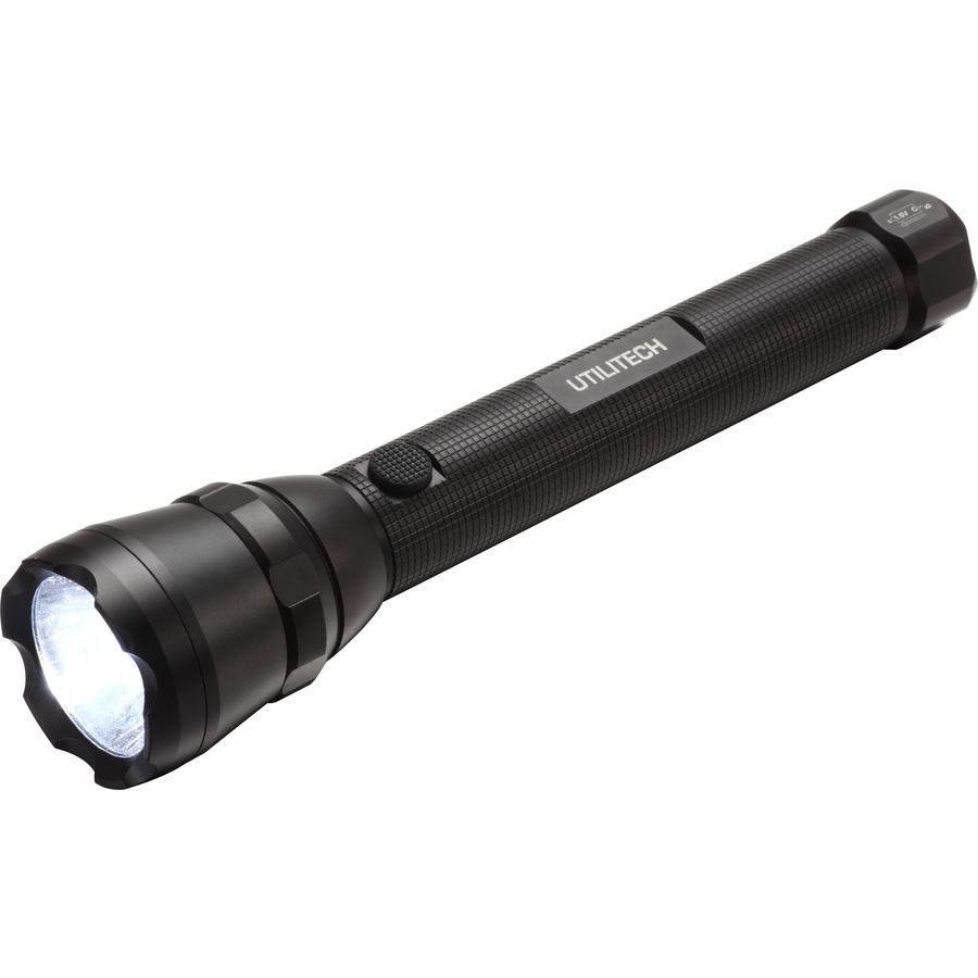 Utilitech 500-Lumen LED Handheld Battery Flashlight