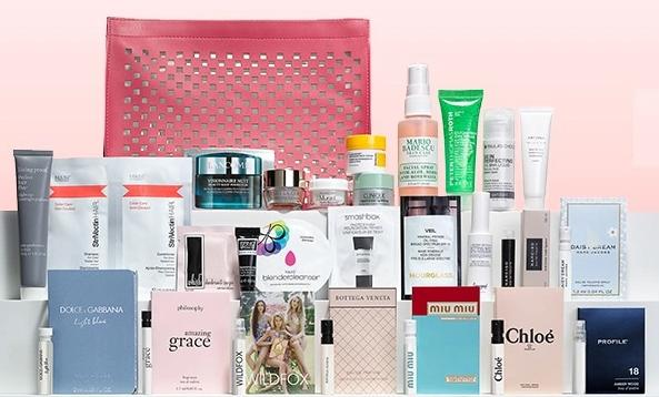 Free 27 piece gift + 10%-20% Off Select Beauty Items @ Nordstrom