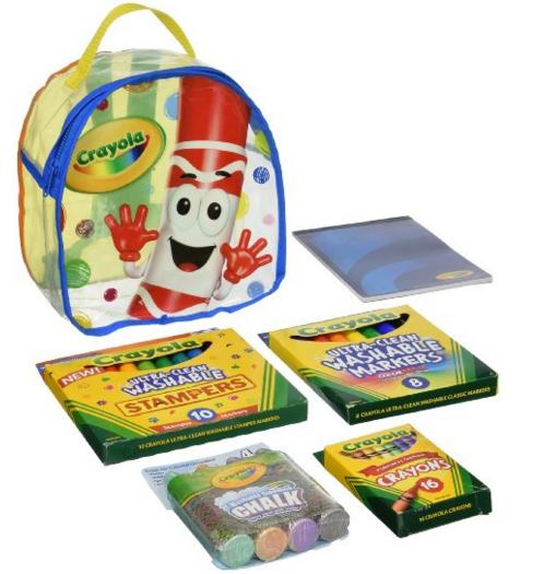 Crayola Art Buddy Backpack @ Amazon