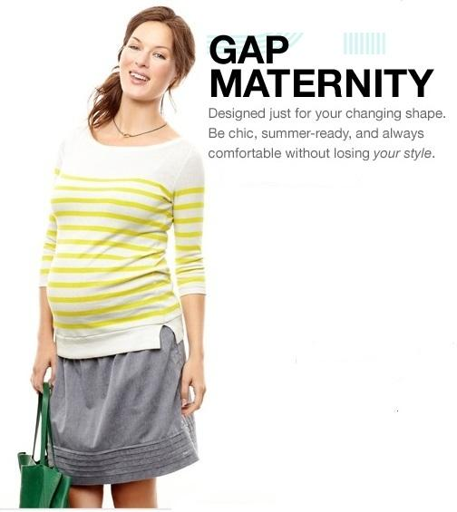 40% Off Maternity Clothes Sale @ Gap