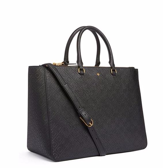 ROBINSON PERFORATED MULTI TOTE @ Tory Burch