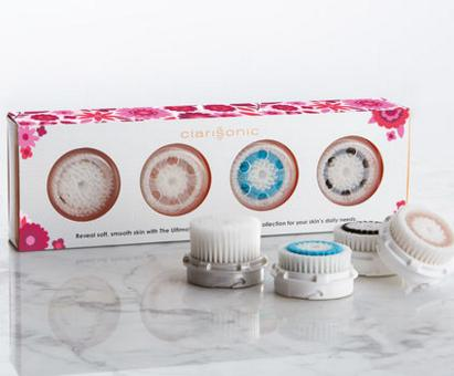 SKIN RENEWING BRUSH HEAD 4 PACK COLLECTION @ Clarisonic