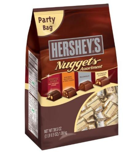 $8.53 Hershey's Nuggets Chocolates Assortment, 38.5-Ounce Bag
