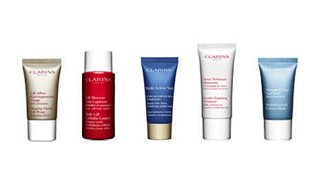 Free 5 Samples with Any Order @ Clarins