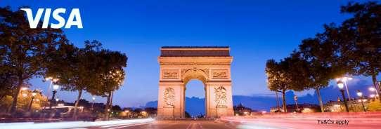 3 for 2 in Paris with Visa Hotels