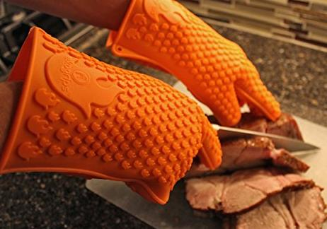 Ekogrips Max Heat Silicone BBQ Gloves @ Amazon