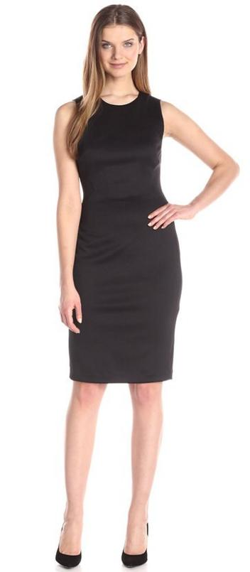 Calvin Klein Women's Sheath with Mesh Detail @ Amazon