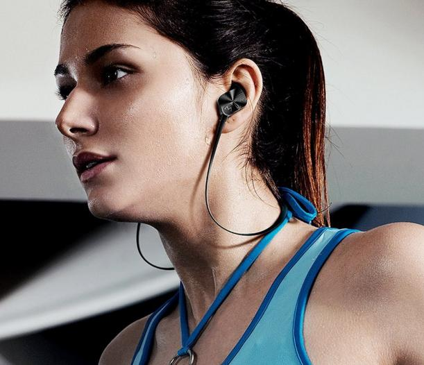 $14.99 Mpow Wolverine Bluetooth 4.1 Sports Headphones In-ear Running Jogging Stereo Headsets