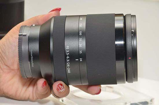 Sony FE 24-240mm F3.5-6.3 OSS sel24240 Full-frame E-mount Lens
