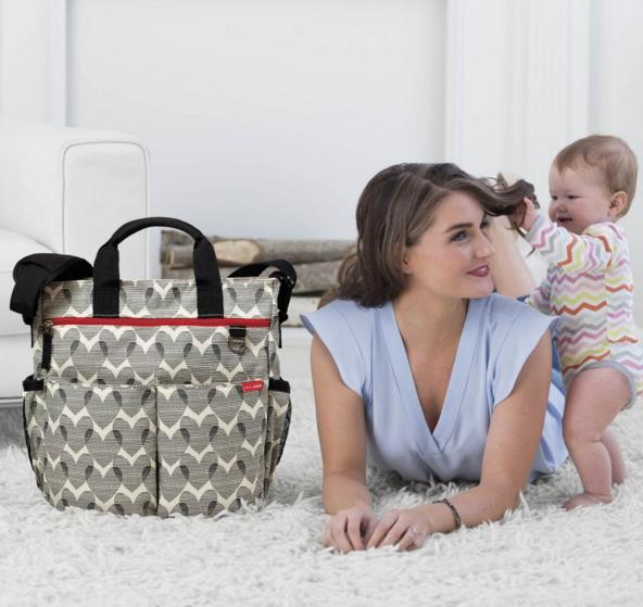$45 Skip Hop Duo Signature Diaper Bag