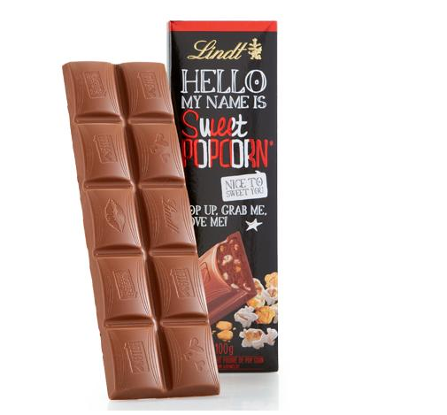 Lindt HELLO Chocolate Bar, Strawberry Cheesecake, 12 Count