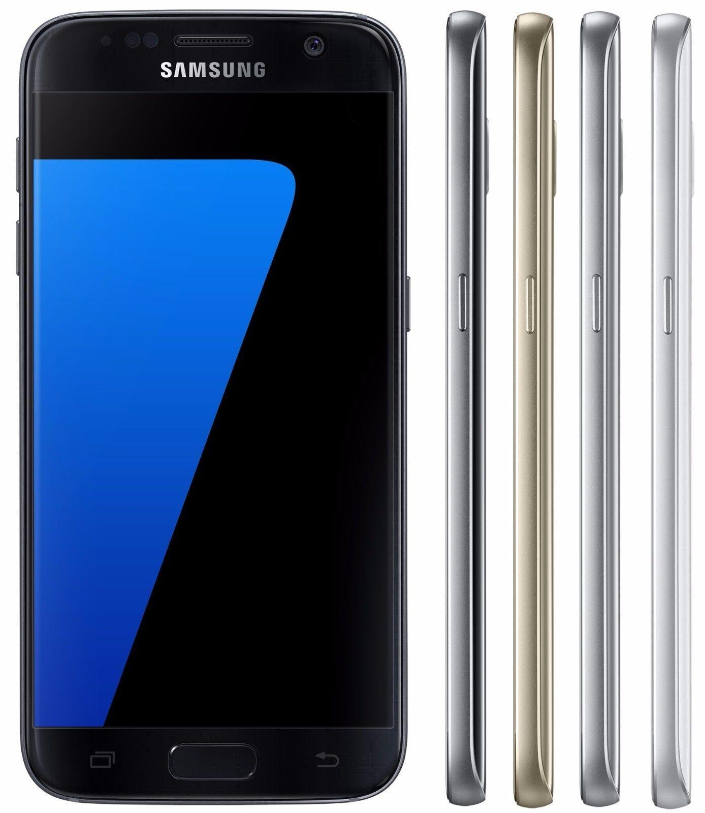 $589.99 Free Shipping New Samsung Galaxy S7 Edge G935FD DUOS SIM 32GB GSM Unlocked 12MP Smartphone